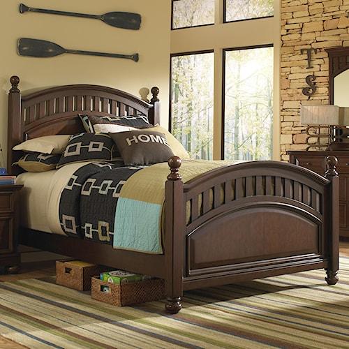 Morris Home Furnishings Edgewood Full Low Post Bed