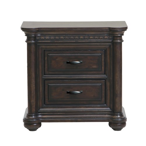 Samuel Lawrence Grand Manor 2 Drawer Nightstand