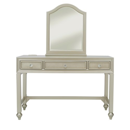 Samuel Lawrence Lil Diva Desk/Vanity w/ Stool & Mirror