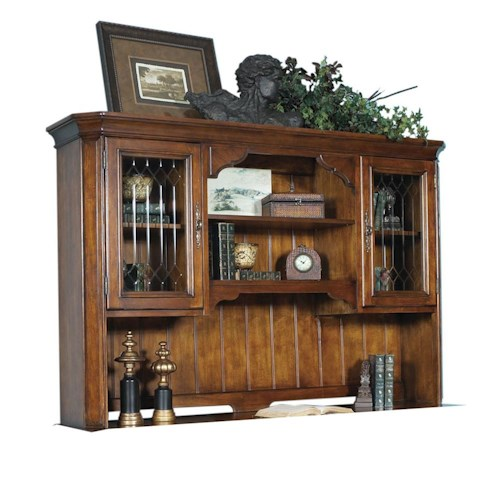 Samuel Lawrence Madison Hutch with Wood Panel Back