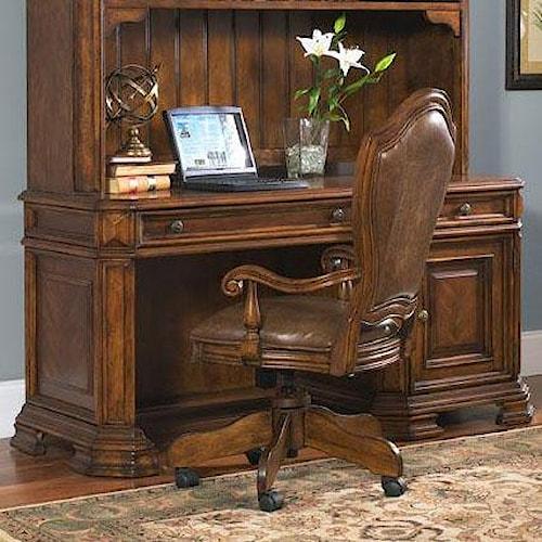 Samuel Lawrence Madison Single Pedestal Computer Desk