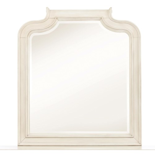 Kidz Gear Everly Beveled Landscape Mirror w/ Curved Frame