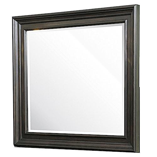 Morris Home Furnishings Monaco Framed Beveled Mirror
