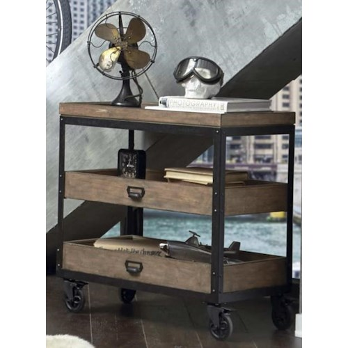Morris Home Furnishings Oregon District Accent Cart