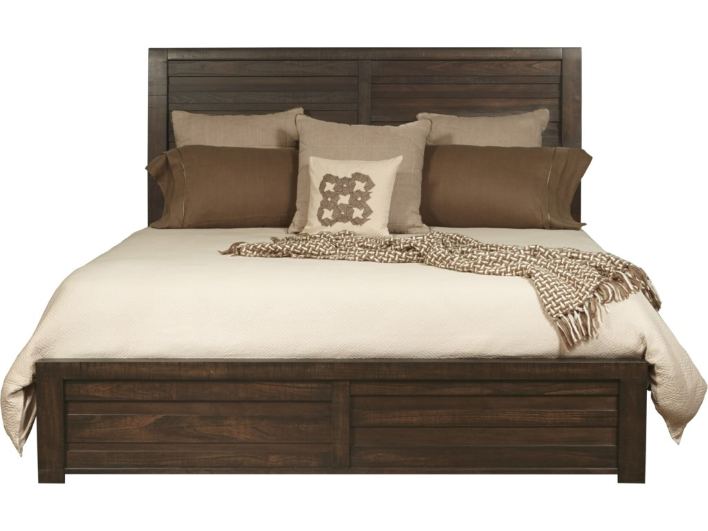 Samuel Lawrence Bedroom Furniture Samuel Lawrence Ruff Hewn Queen Bed With Staggered Planking