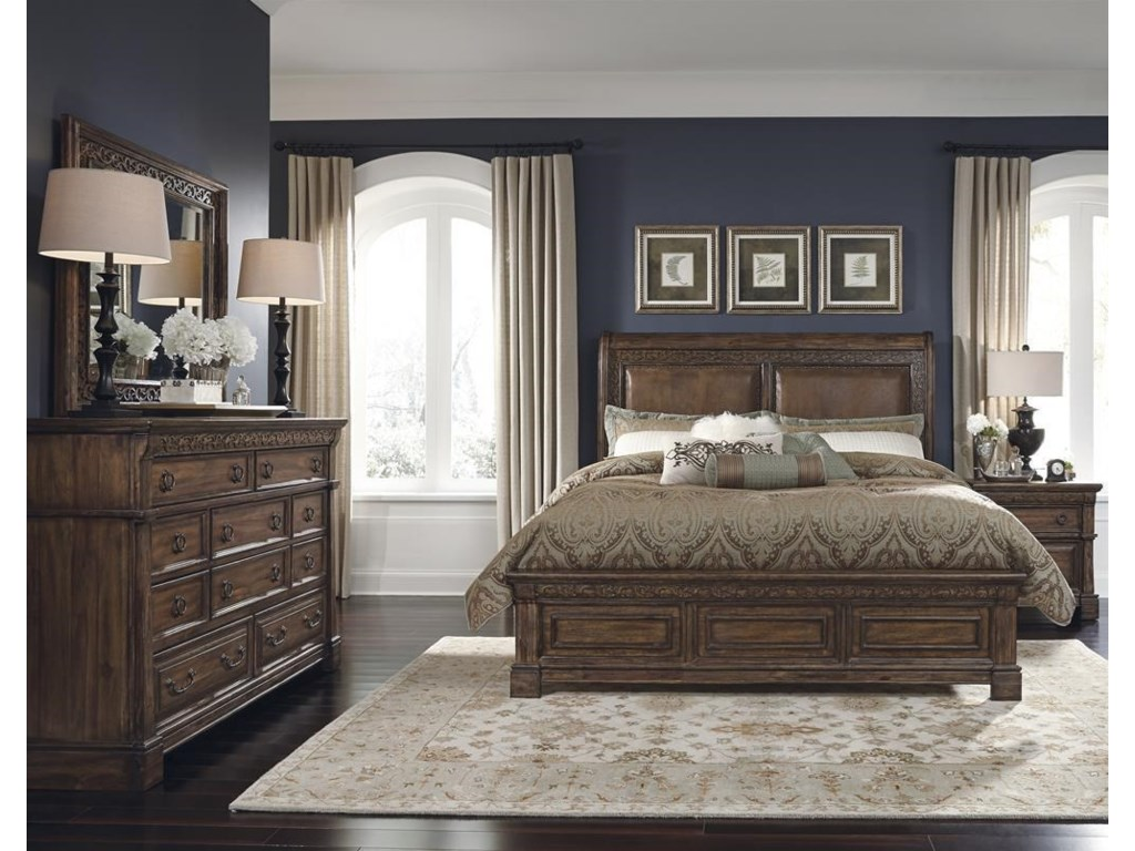 Samuel Lawrence Bedroom Furniture Samuel Lawrence Barcelona King Bed Great American Home Store