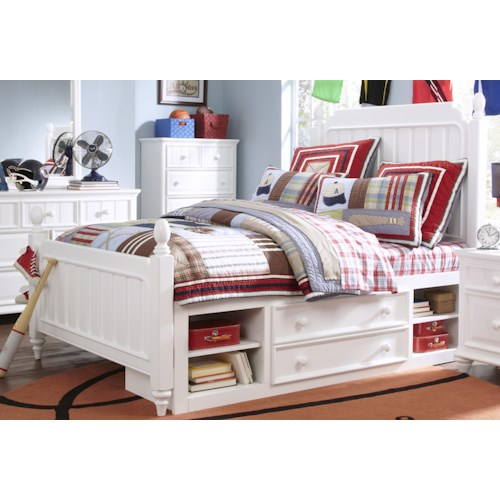 Kidz Gear Campbell Full Bed with Underbed Storage