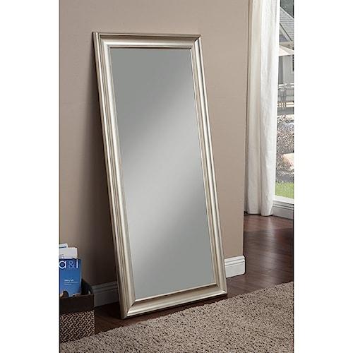 Sandberg Furniture 12011 Full Length Leaner Mirror