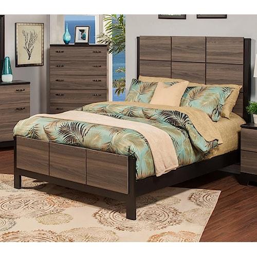 Sandberg Furniture 438 438 Nova Queen Bed