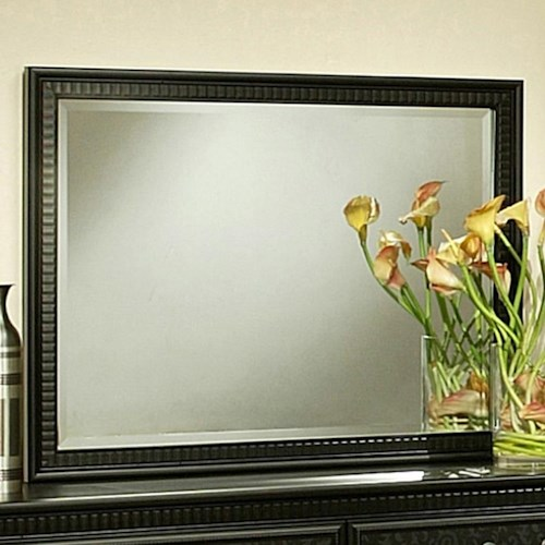 Sandberg Furniture Granada  Beveled Landscape Mirror