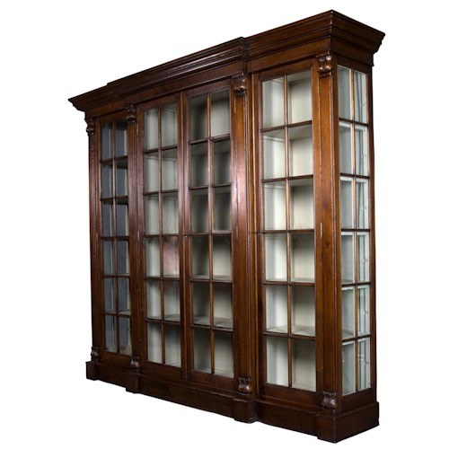 Sarreid Ltd Home Office 15 Shelf Cadenza Breakfront Closed ...