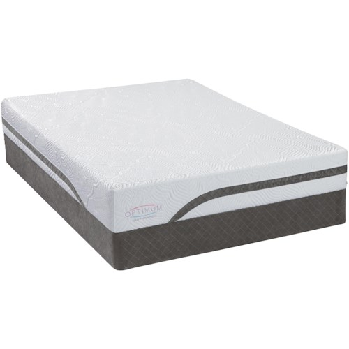 Sealy Optimum Latex Gel Dreams California King Latex Mattress and Foundation