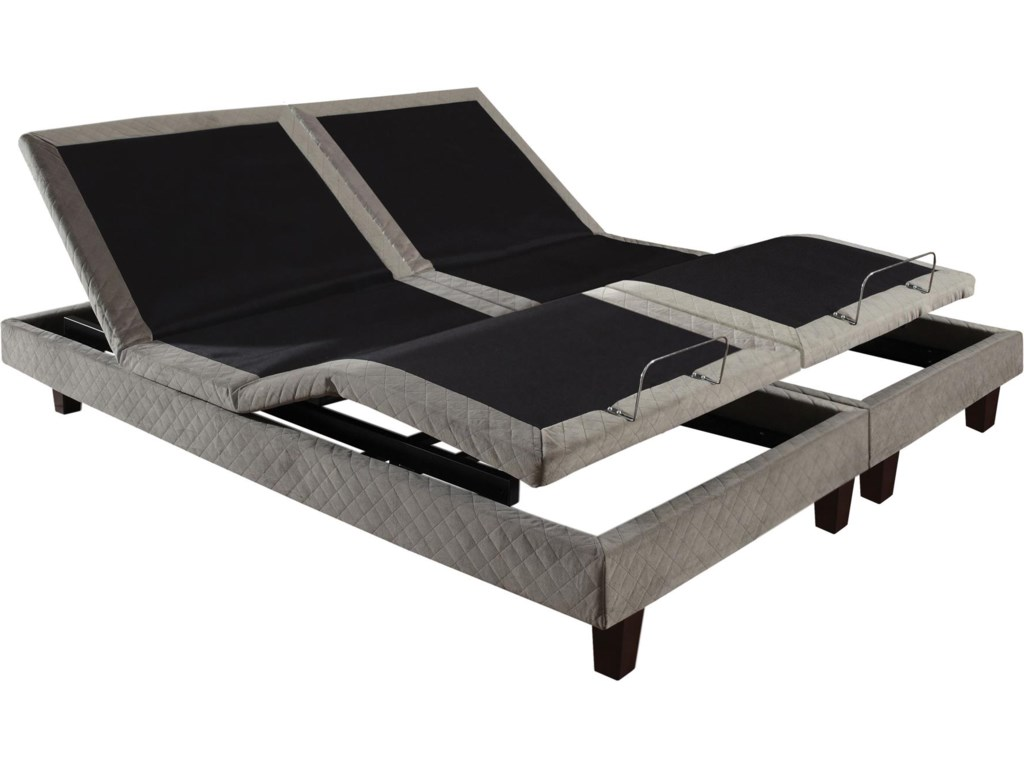 Image Shows Two Twin Extra Long Adjustable Beds;  Image Shown May Not Represent Size Indicated