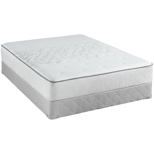Sealy Posturepedic Classic Carrboro Twin Firm Mattress and Foundation