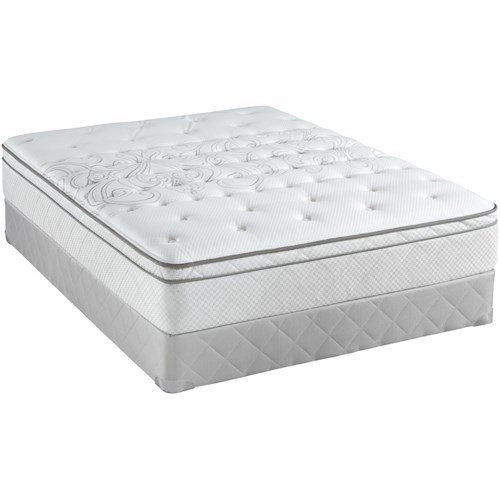 Sealy Posturepedic Classic Waterville King Plush Euro Top Mattress and Foundation