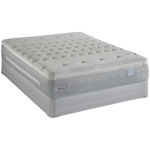 Sealy Posturepedic Pentathlon California King Firm Euro Pillow Top Mattress and Box Spring