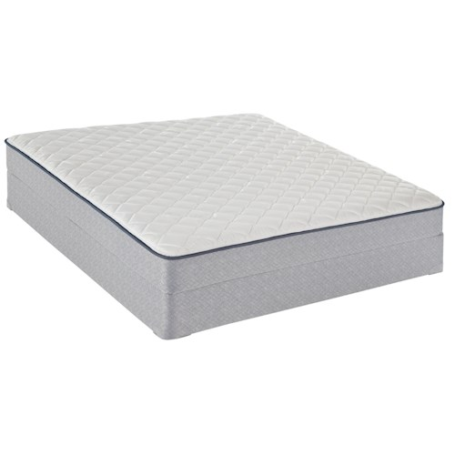Sealy Stowbridge Queen Firm Mattress and Foundation