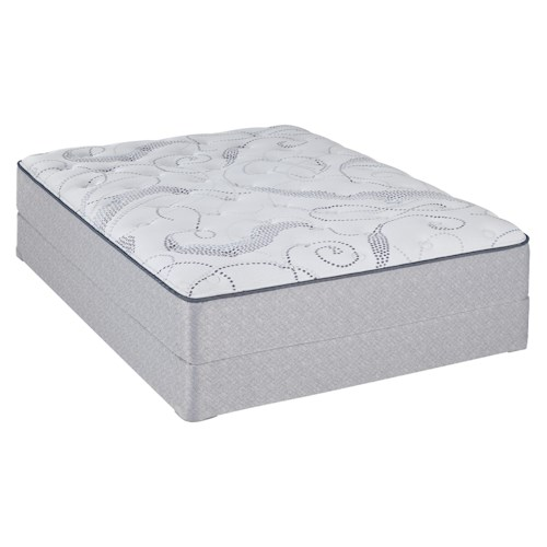 Sealy Sealy Brand Abbeywood Full Cushion Firm Mattress and Foundation