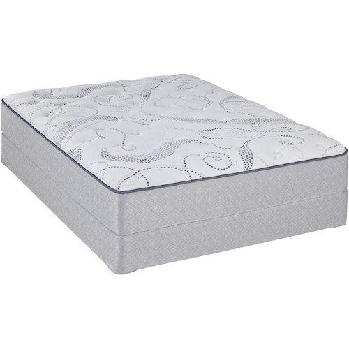 Sealy Sealy Brand Abbeywood Full Plush Mattress and 5