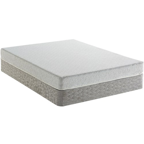 Serta Wilmore Twin Firm Mattress and Boxspring