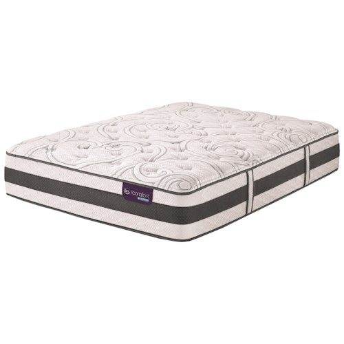 Serta iComfort Hybrid Applause II Cal King Plush Hybrid Quilted Mattress