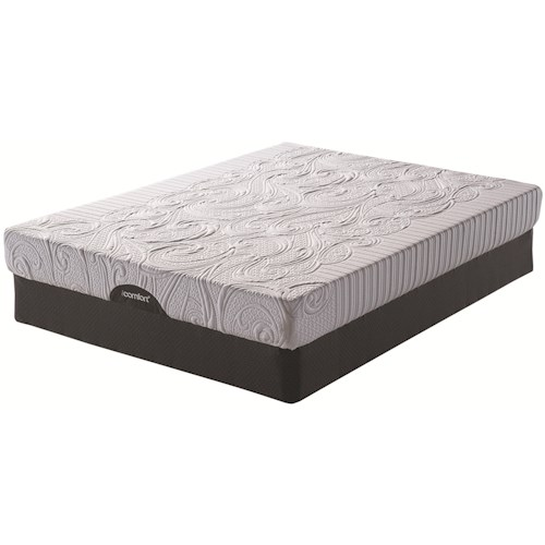 Serta iComfort Insight EverFeel King Gel Memory Foam Mattress and Serta® Motion Perfect® II Adjustable Base