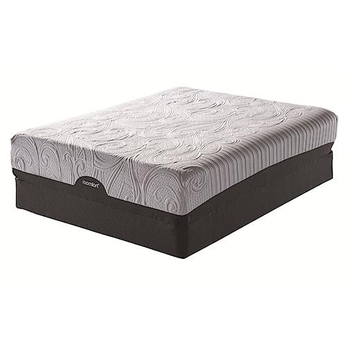 Serta iComfort® Savant EverFeel™ Plush King Gel Memory Foam Mattress and Serta® Motion Perfect II Adjustable Base