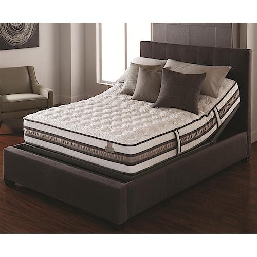Serta iSeries Vantage King Cushion Firm Mattress and Serta® Motion Perfect® II Adjustable Base