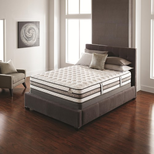Serta iSeries Vantage King Firm Mattress and Box Spring
