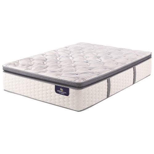 Serta Ps Gannon Firm Spt Twin Firm Super Pillow Top Premium Pocketed Coil Mattress Adcock