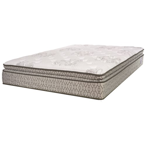 Serta Wynbury Plush Full Plush Mattress and Motion Perfect III Adjustable Foundation