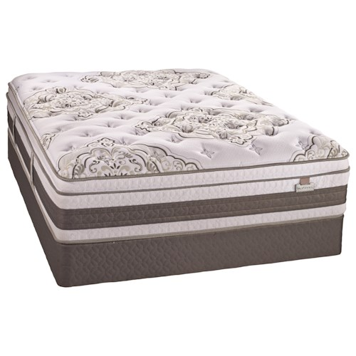 Serta Canada Adoration II SPT King Super Pillow Top Mattress and iSeries Boxspring
