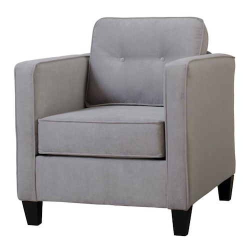 Serta Upholstery 1375 Chair with Casual Contemporary Style