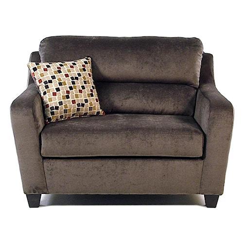 Serta Upholstery Sleepers Twin Sleeper Chair