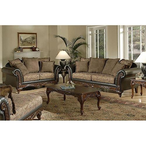 Serta Upholstery Monaco 5-Piece Living Room Package
