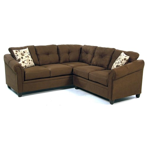 Serta Upholstery Tabor 2 Piece Sectional