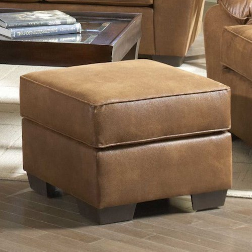 Serta Upholstery 3800 Square Accent Ottoman