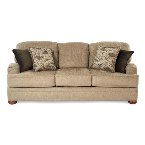 Serta Upholstery Orion Transitional Sofa with English Arms
