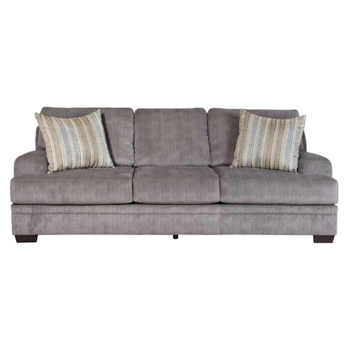Serta Upholstery Grayson Sofa with Casual Furniture Style for Living Rooms