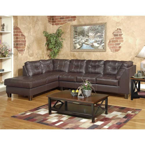 Serta Upholstery by Hughes 2500 Sectional Sofa