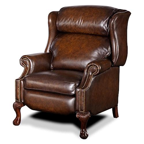 Hooker Furniture Reclining Chairs High Leg Wing Recliner