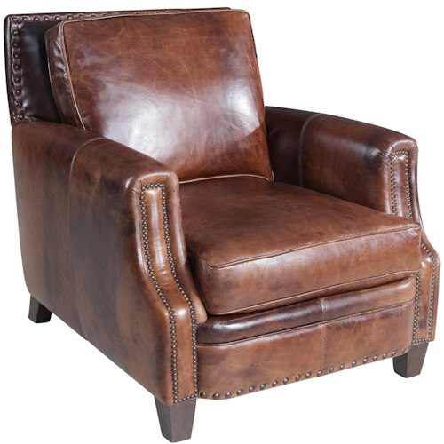 Hooker Furniture SS311 Traditional Chair With Track Arms