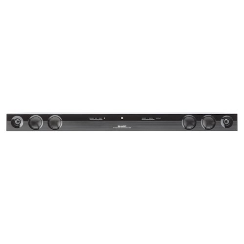 Sharp Electronics Shelf Stereo Systems ENERGY STAR® 2.0 Channel 40-Watt Sound Bar Home Theater System with Bluetooth® Wireless Compatibility