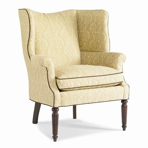 Sherrill Dan Carithers Wing Chair
