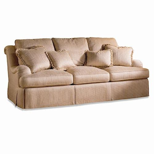 Sherrill Traditional Deep Seated Sofa