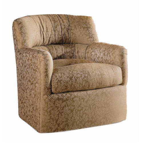 Sherrill Transitional Huge and Plush Motion Swivel Chair
