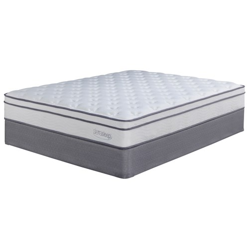 Sierra Sleep Longs Peak Limited Twin Plush Mattress and Foundation