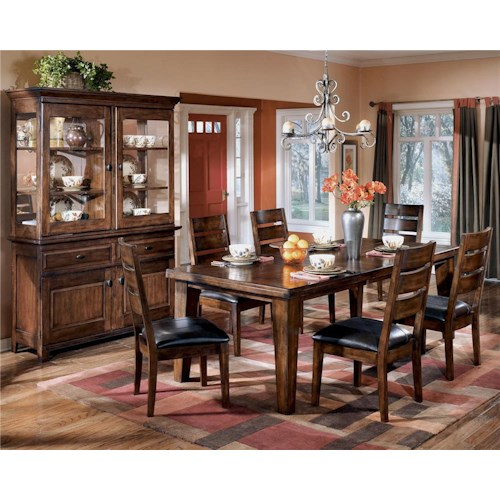 Signature Design by Ashley Larchmont 9Pc Dining Room