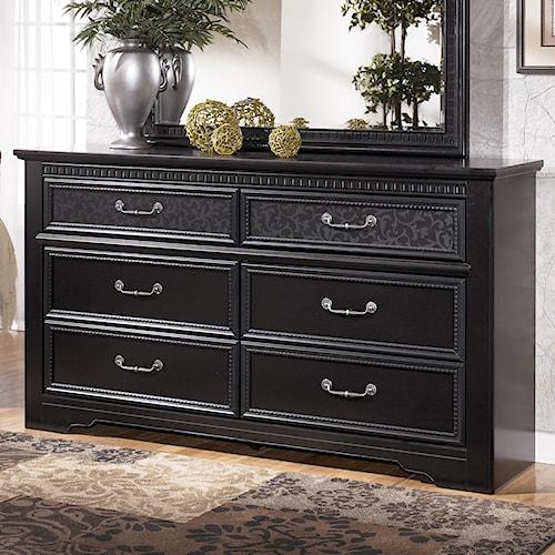 Signature Design by Ashley Cavallino 6 Drawer Dresser