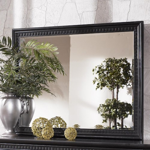 Signature Design by Ashley Cavallino Landscape Dresser Mirror